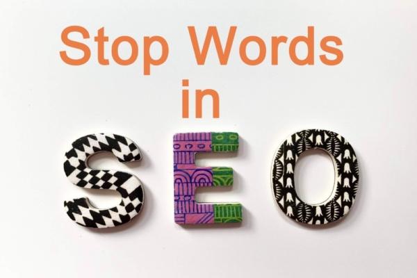 stop words in seo